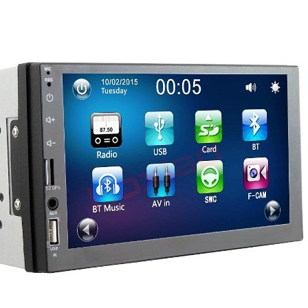 RADIO ZA AUTO-7IN HD,FM,BLUETOOTH,KAMERA-SA NAVIGACIJOM
