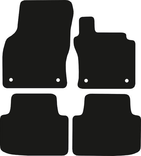 PATOSNICE TEPIH  TIPSKE-VW PASSAT 2014- B8