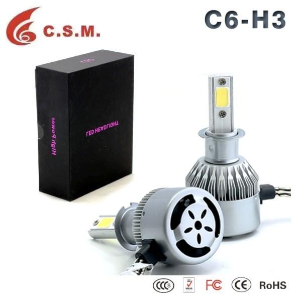 SIJALICE CREE LED C6 12V H3 6000K