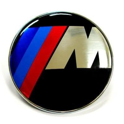 PLASTIČNA OZNAKA BMW /// M PREDNJA OKRUGLA