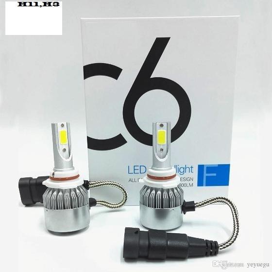 SIJALICE CREE LED C6+ 12V H11 6000K grade A