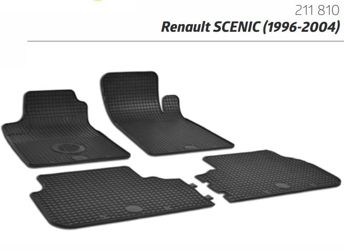 PATOSNICE GUMENE TIPSKE RENAULT SCENIC 1996-2004