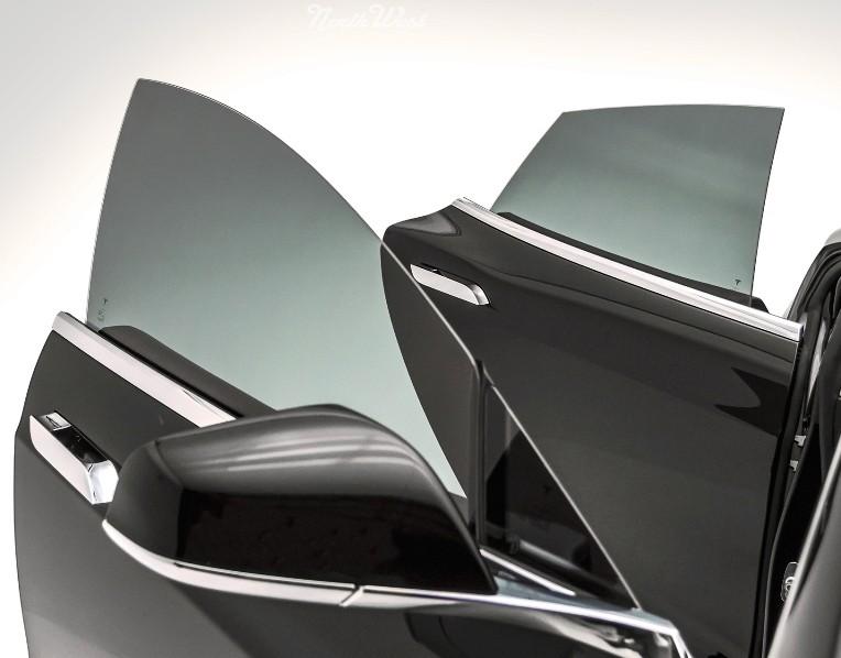 FOLIJA ZA STAKLO AUTOSYSTEM 1PLY 50X300cm L.BLACK(35%)