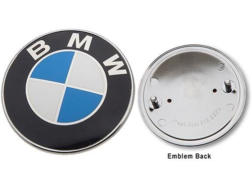 PLASTIČNA OZNAKA BMW ZADNJA FI74mm