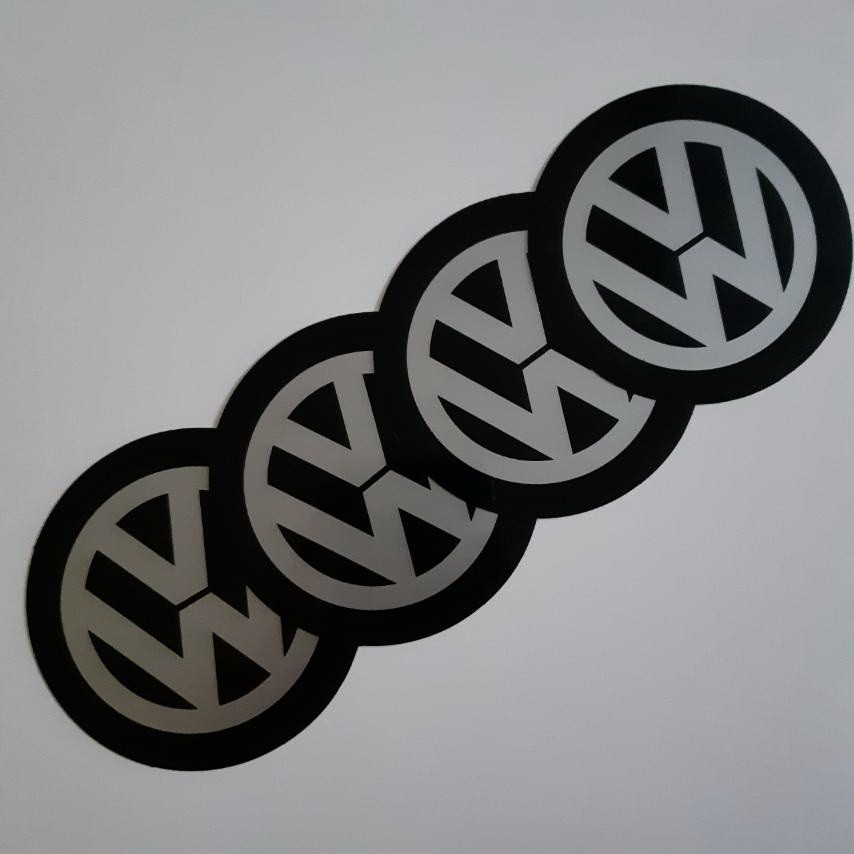 STIKERI ZA RATKAPE VW FI76mm(set 4 komada)