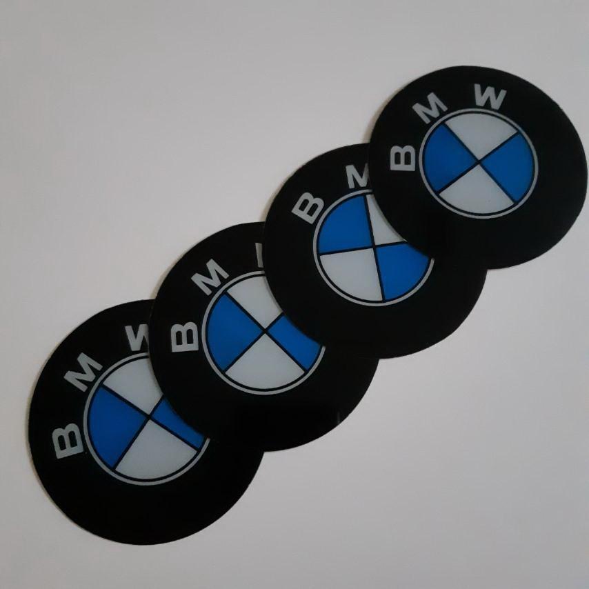 STIKERI ZA RATKAPE BMW FI76mm(set 4 komada)