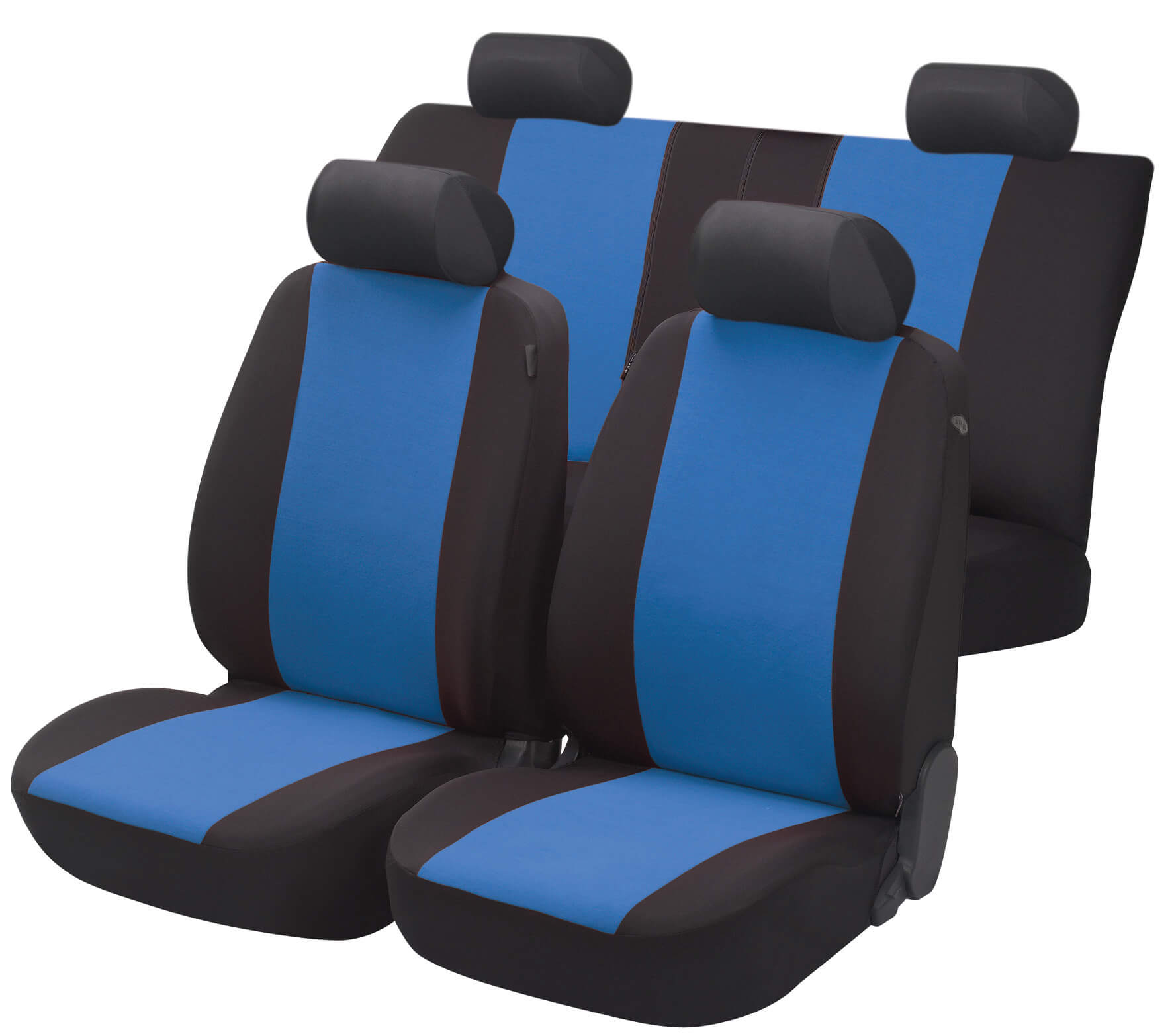 auto presvlake bicolor plave
